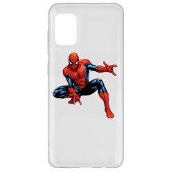 Чехол для Samsung A31 Hero Spiderman