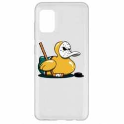 Чохол для Samsung A31 Hockey duck
