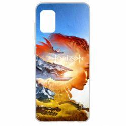 Чехол для Samsung A31 Horizon Zero Dawn art