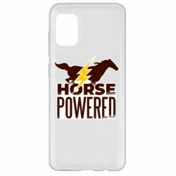 Чехол для Samsung A31 Horse power