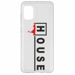 Чехол для Samsung A31 House
