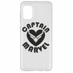 Чохол для Samsung A31 I love Captain Marvel