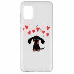 Чохол для Samsung A31 I love dachshund