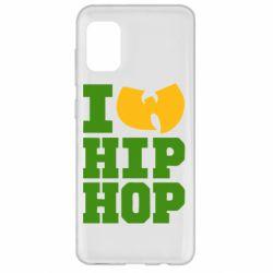 Чехол для Samsung A31 I love Hip-hop Wu-Tang