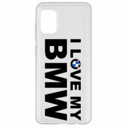 Чохол для Samsung A31 I love my BMW