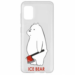 Чохол для Samsung A31 Ice bear