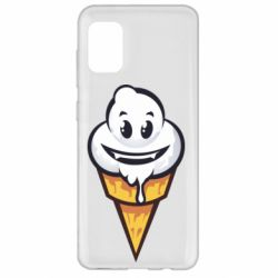 Чохол для Samsung A31 Ice cream graffiti
