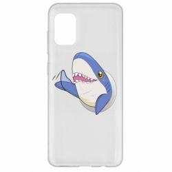 Чехол для Samsung A31 Ikea Shark Blahaj
