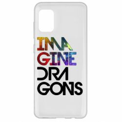 Чехол для Samsung A31 Imagine Dragons and space