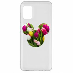 Чохол для Samsung A31 Inner world flowers mickey mouse