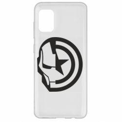 Чохол для Samsung A31 Iron Man and Captain America