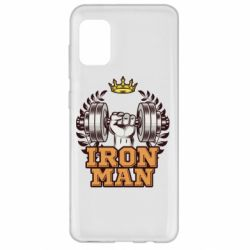Чохол для Samsung A31 Iron man and sports