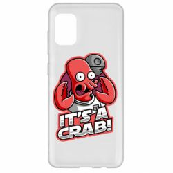 Чохол для Samsung A31 It's a crab!