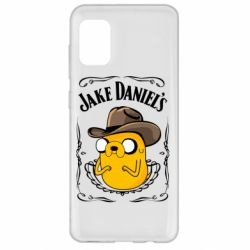 Чохол для Samsung A31 Jack Daniels Adventure Time