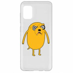 Чохол для Samsung A31 Jake from  Adventure Time