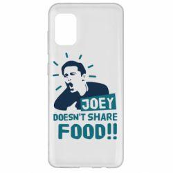 Чехол для Samsung A31 Joey doesn't share food!