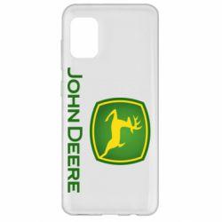 Чохол для Samsung A31 John Deere logo