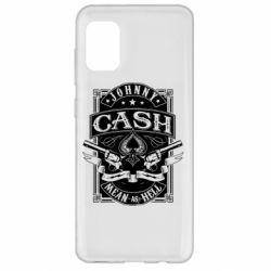 Чохол для Samsung A31 Johnny cash mean as hell