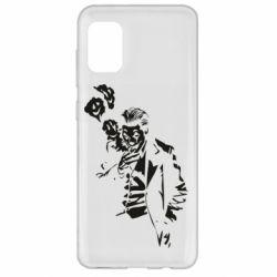 Чехол для Samsung A31 Joker smokes and smiles