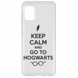 Чехол для Samsung A31 KEEP CALM and GO TO HOGWARTS