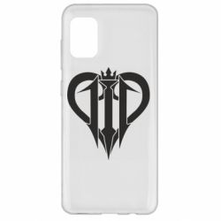 Чохол для Samsung A31 Kingdom Hearts logo