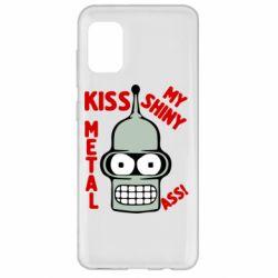 Чехол для Samsung A31 Kiss metal