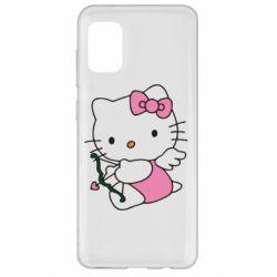 Чохол для Samsung A31 Kitty амурчик