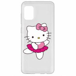 Чехол для Samsung A31 Kitty балярина