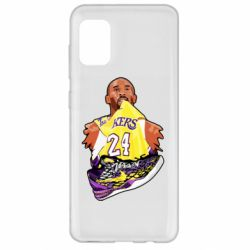 Чехол для Samsung A31 Kobe Bryant and sneakers