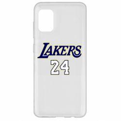 Чехол для Samsung A31 Lakers 24
