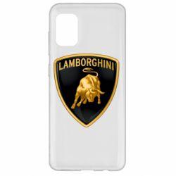 Чохол для Samsung A31 Lamborghini Logo