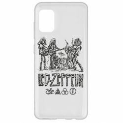 Чехол для Samsung A31 Led-Zeppelin Art