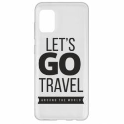Чохол для Samsung A31 Let's go travel around the world