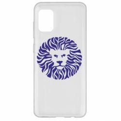 Чехол для Samsung A31 лев