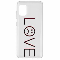 Чохол для Samsung A31 lil peep: love