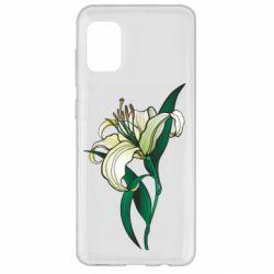 Чохол для Samsung A31 Lily flower