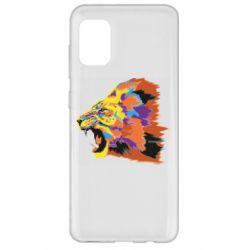 Чехол для Samsung A31 Lion multicolor
