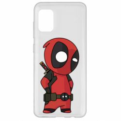 Чохол для Samsung A31 Little Deadpool