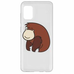 Чехол для Samsung A31 Little monkey