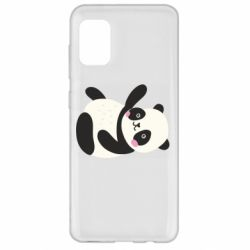 Чехол для Samsung A31 Little panda