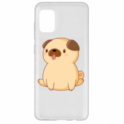 Чехол для Samsung A31 Little pug