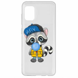 Чехол для Samsung A31 Little raccoon