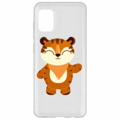 Чехол для Samsung A31 Little tiger with a smile