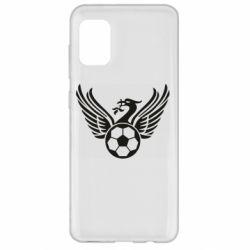 Чохол для Samsung A31 Liverpool and soccer ball