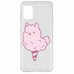 Чехол для Samsung A31 Llama Ice Cream