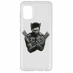Чехол для Samsung A31 Logan Wolverine vector