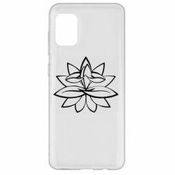 Чохол для Samsung A31 Lotus yoga
