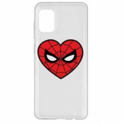 Чохол для Samsung A31 Love spider man