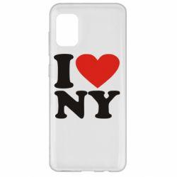 Чохол для Samsung A31 Люблю Нью Йорк