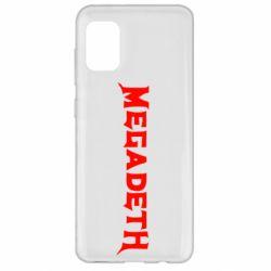 Чехол для Samsung A31 Megadeth